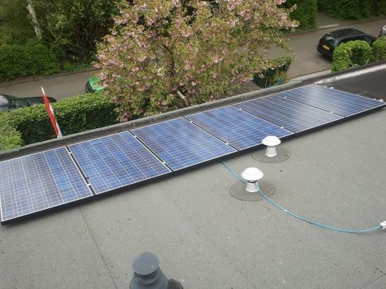 elektriciteit opwekken met zonnepanelen  pv
